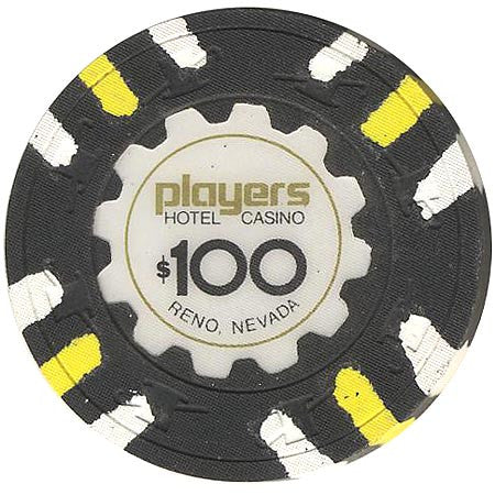 Player's Hotel $100 chip
