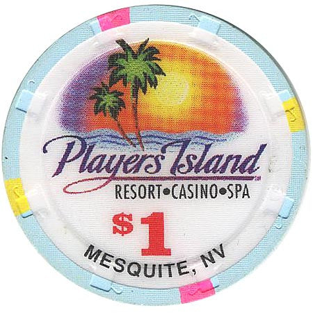 Player's Island $1 chip