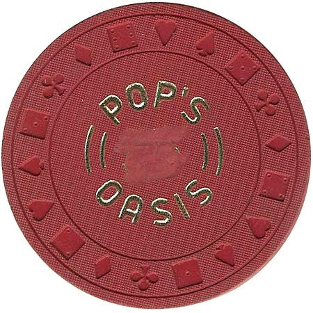 Pop's  Oasis (red) chip - Spinettis Gaming - 1