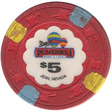 Primadonna $5 (red) chip - Spinettis Gaming - 1