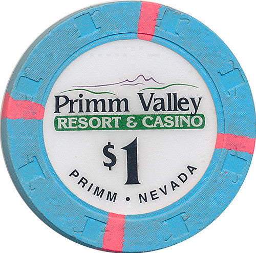 Primm Valley Casino, Primm NV $1 Casino Chip - Spinettis Gaming - 1