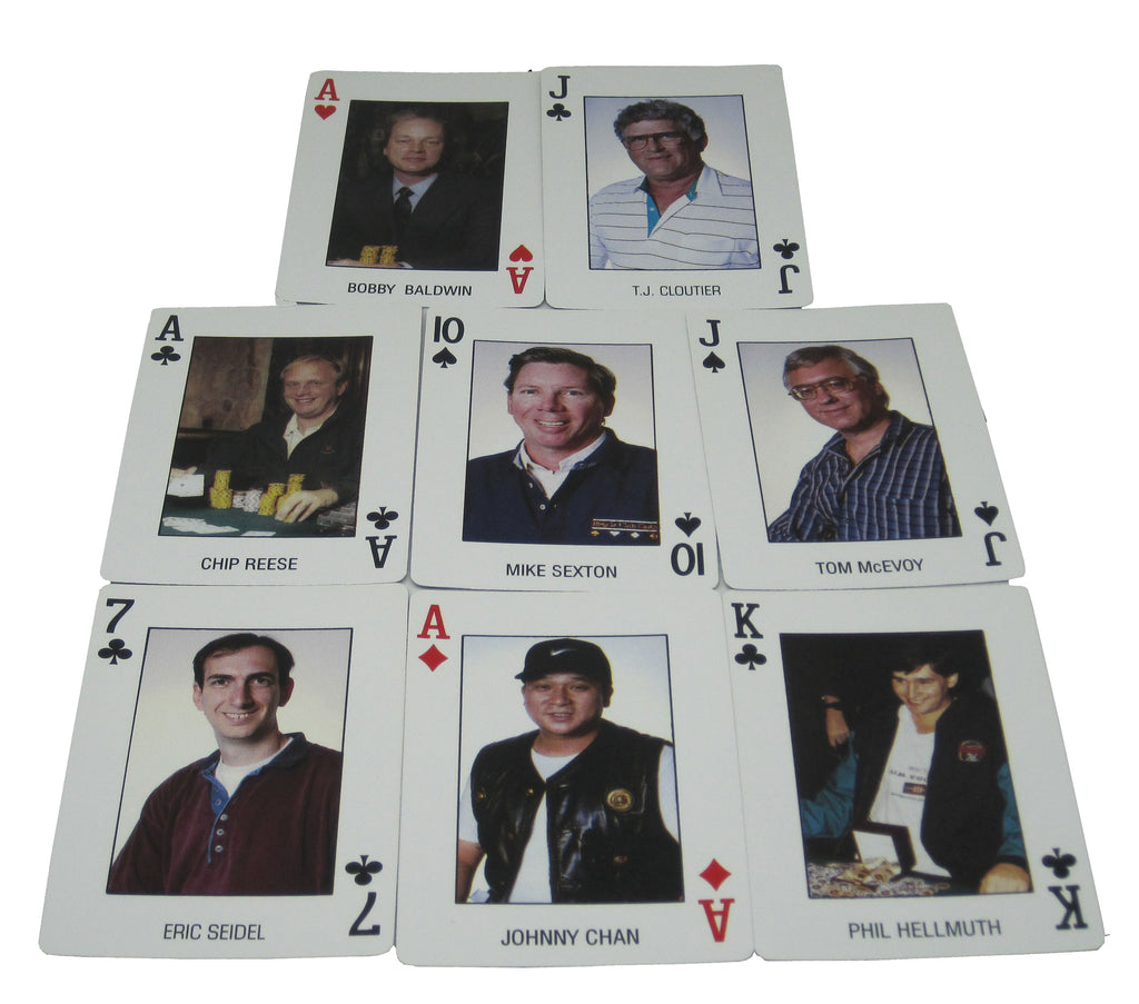 New Playing Cards Pro-Deck Famous Poker Players Deck Las Vegas