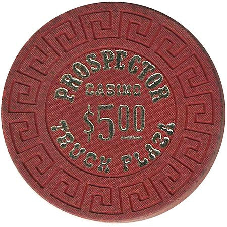 Prospector Truck Plaza $5 (red) chip