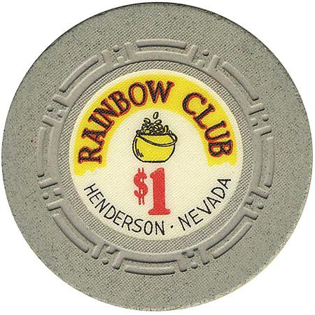 Rainbow Club $1 chip (HCE) - Spinettis Gaming - 1