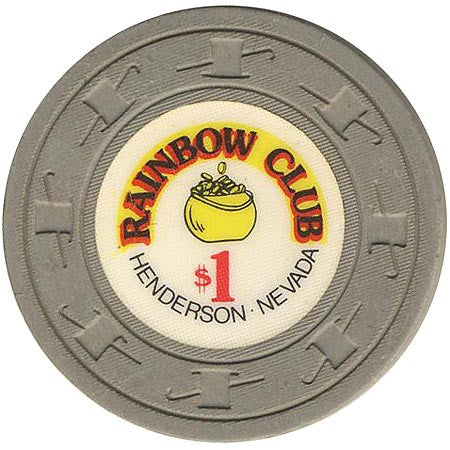 Rainbow Club $1 Paulson chip (long cane) - Spinettis Gaming - 1