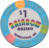 Rainbow Casino, Wendover NV $1 Casino Chip - Spinettis Gaming - 1