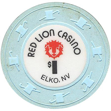 Red Lion Casino $1 (blue) chip - Spinettis Gaming - 1