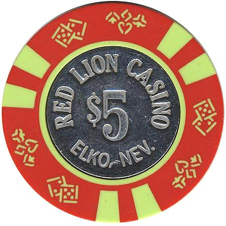 Red Lion Casino $5 chip