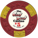 The Reel Deal Casino $5 chip - Spinettis Gaming - 1