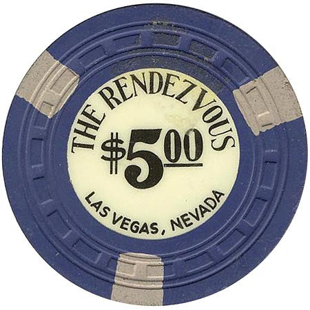 The Rendezvous $5 (blue) chip