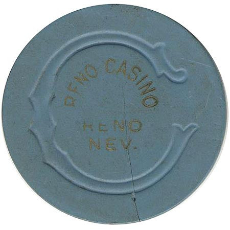 Reno Casino $5 (blue) chip