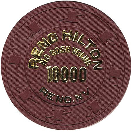 Reno Hilton 10000 (NCV) (brown) chip