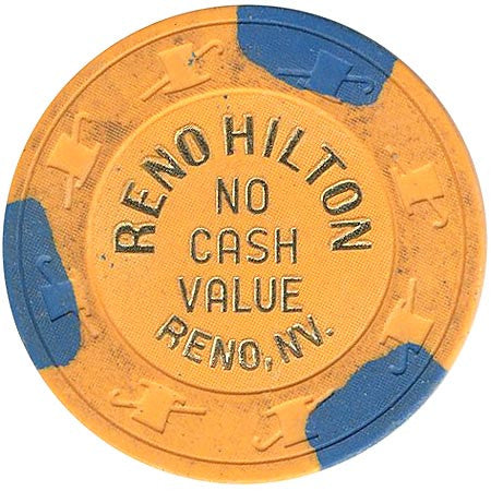 Reno Hilton (NVC) (orange) chip - Spinettis Gaming - 2