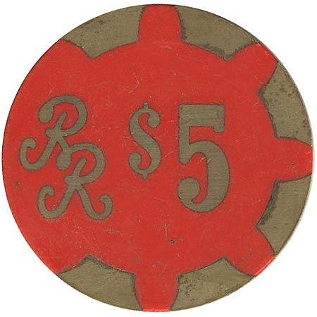 Reno Ramada $5 (red) chip