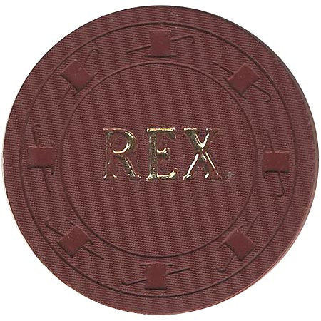 Rex $1 (brown) chip