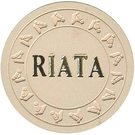 Riata $1 (beige) chip - Spinettis Gaming - 2