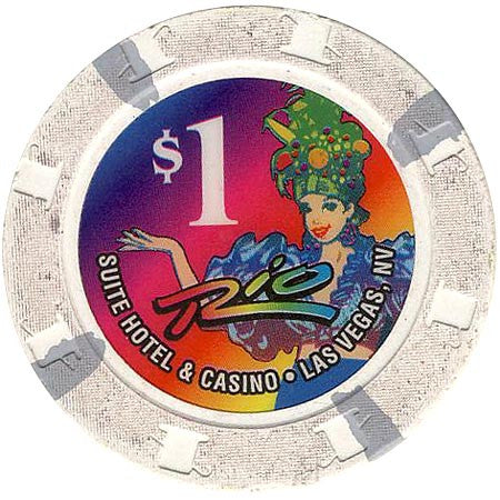 Rio, Las Vegas NV $1 Casino Chip - Spinettis Gaming - 1