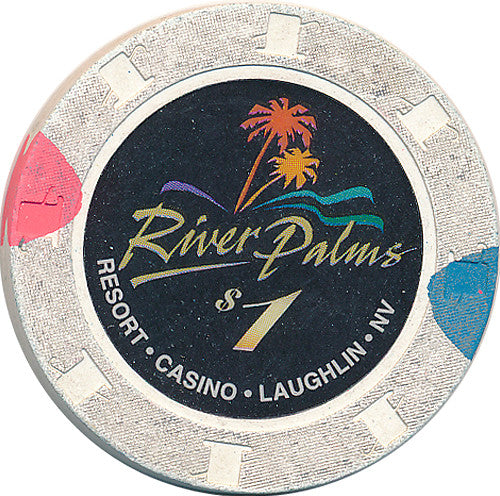 River Palms, Laughlin NV $1 Casino Chip - Spinettis Gaming