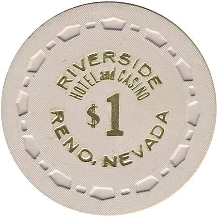 Riverside Casino $1 (beige) chip