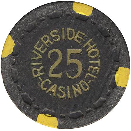 Riverside Casino Reno NV $25 Chip 1959