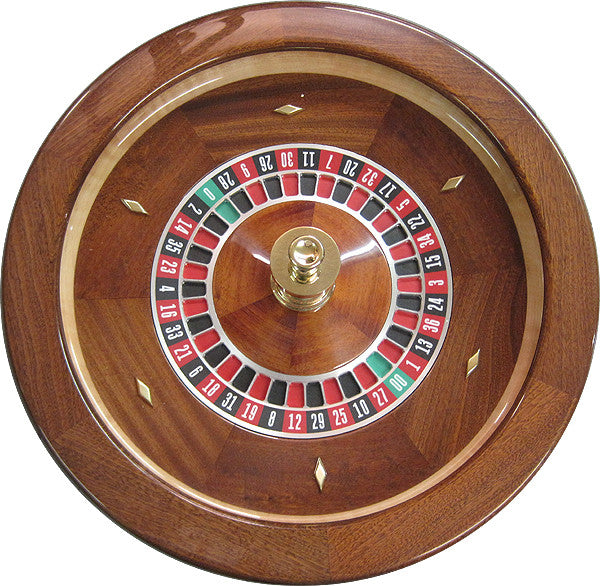 Professional Solid Mahogany Roulette Wheel - Spinettis Gaming - 4
