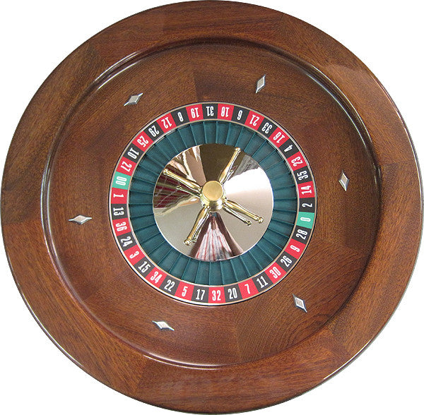 Professional Solid Mahogany Roulette Wheel - Spinettis Gaming - 5