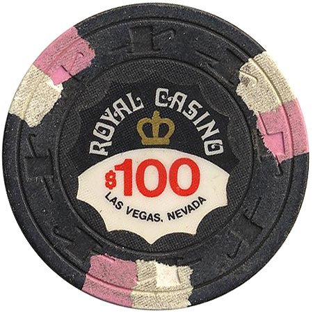 Royal Casino $100 (black) chip
