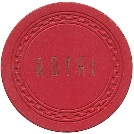 Royal $10 (red) chip