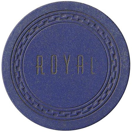 Royal $1 (blue) chip