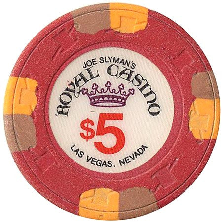 Royal Casino $5 (red) chip - Spinettis Gaming - 1