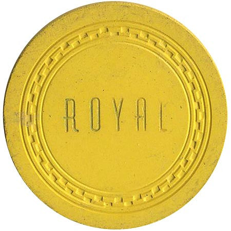 Royal $5 (yellow) chip