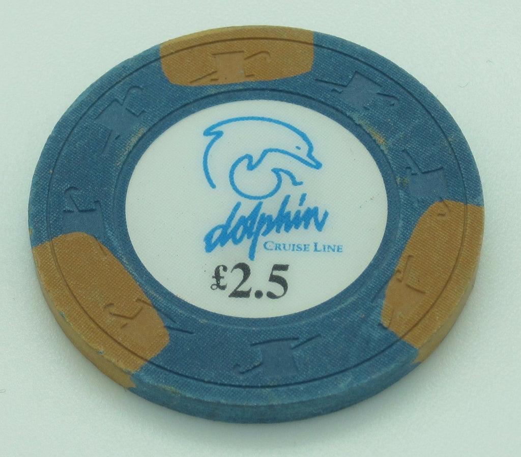 Dolphin Cruise Line £2.50 Chip