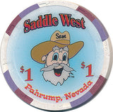 Saddle West $1 Chip - Spinettis Gaming - 1