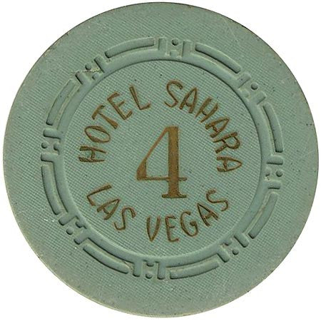 Hotel Sahara Roulette 4 chip green - Spinettis Gaming