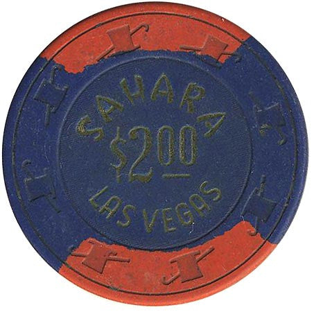 Sahara Casino $2 (blue) chip