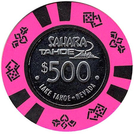 Sahara Tahoe $500 (hot pink) chip - Spinettis Gaming - 2