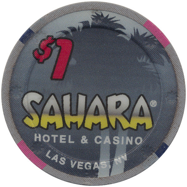 Sahara $1 (Sunburst Mold) Chip