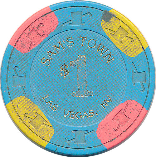 Sam's Town, Las Vegas NV $1 Casino Chip - Spinettis Gaming - 1