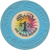 Sands $1 (Light Blue) Casino Chip - Spinettis Gaming