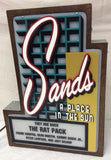 Sands Casino Marquee Sign Lighted Replica - Spinettis Gaming - 3