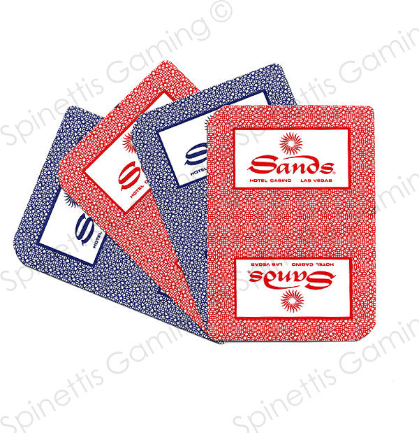 Sands Casino Las Vegas Playing Card Deck Deck
