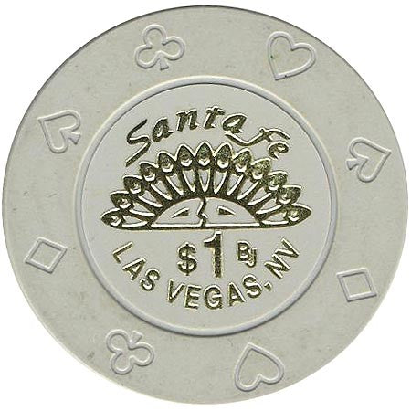 Santa Fe Casino Las Vegas NV $1 Chip 1998