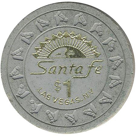 Santa Fe Casino Las Vegas NV $1 Chip 1991