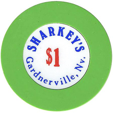 Sharkey's $1 (green) chip