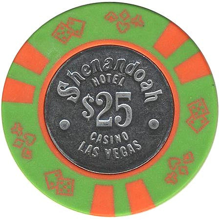Shenandoah Casino $25 (green) chip