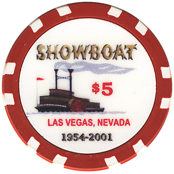 Showboat $5 Chip - Spinettis Gaming - 1