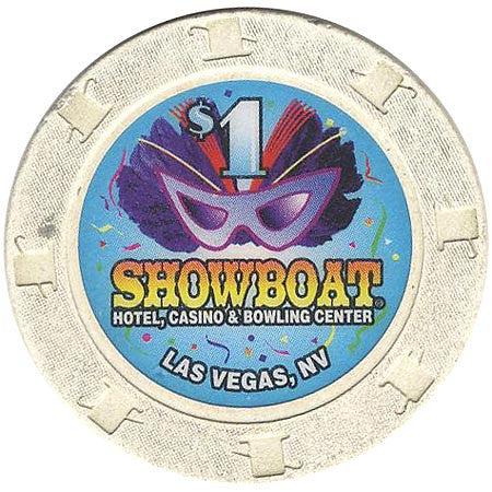 Showboat Casino Las Vegas NV $1 Chip 1996