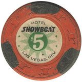 Showboat $5 (orange) chip - Spinettis Gaming - 2