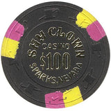 Shy Clown $100 (black) chip - Spinettis Gaming - 2