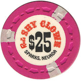Shy Clown $25 (pink) chip - Spinettis Gaming - 1